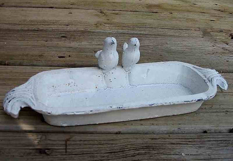 Lovebirds Mini Sipper Birdbath/Feeder