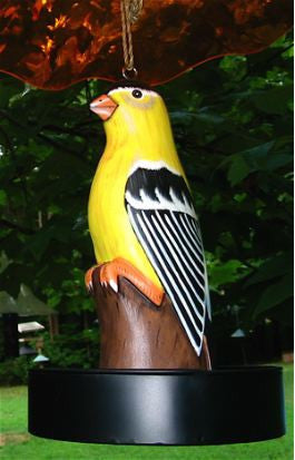Wood Goldfinch Tray Bird Feeder