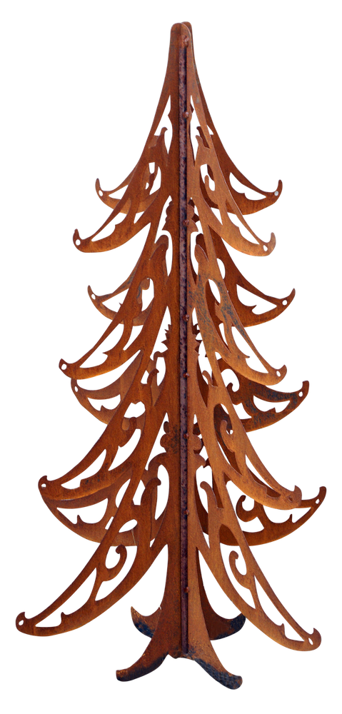 Hand Forged Christmas Tree- 4 ft.