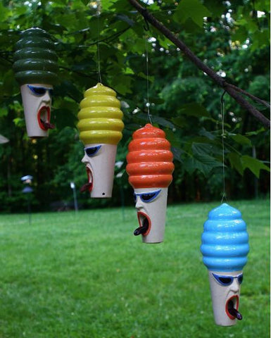 Hot Lips Hilda Stoneware Bird Feeder