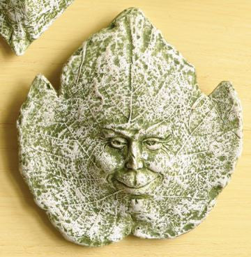Ceramic Leaf Spirits Plaque