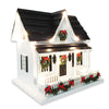 Lighted Holiday Birdhouse