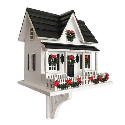 Light-Up Holiday Bird House