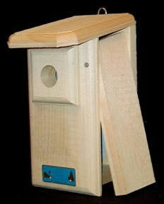 Western/Mountain Bluebird House-NABS Approved