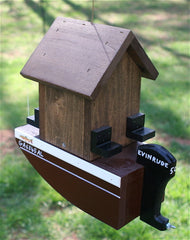 Boat House Wooden Birdhouse