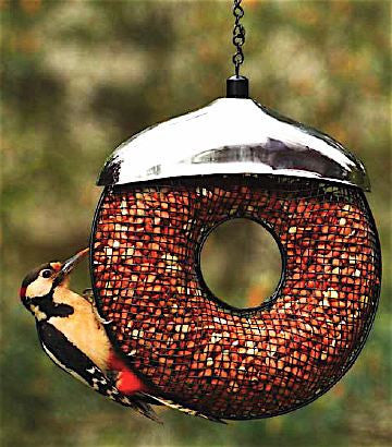 Doughnut Peanut Feeder for Shelled Peanuts
