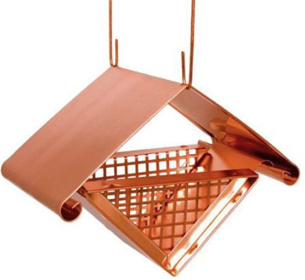 Architectural Peanut Feeder & More-Solid Copper