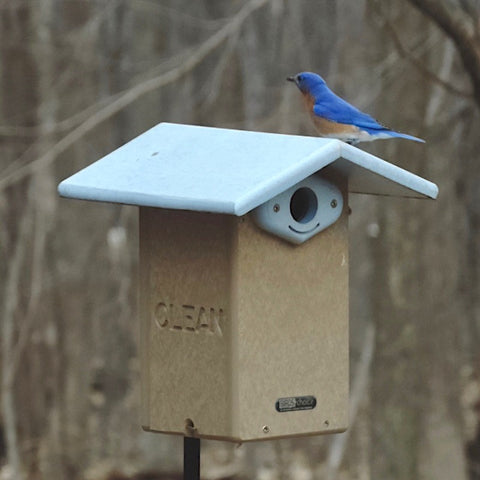 Deluxe Reycled Bluebird House-NABS Approved
