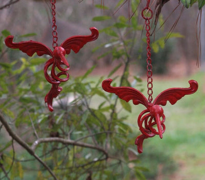 Iron Hummingbird Set-Red