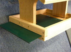 Fly Thru Bird Feeder with Removable Tray