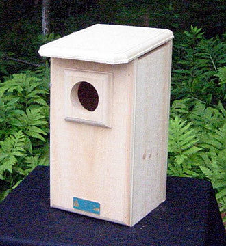 Screech Owl House and Saw-whet Owl Box