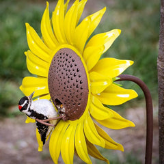 Sunflower Staked Bird Feeder