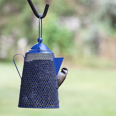 Teapot Bird Feeder for Peanuts or Sunflower