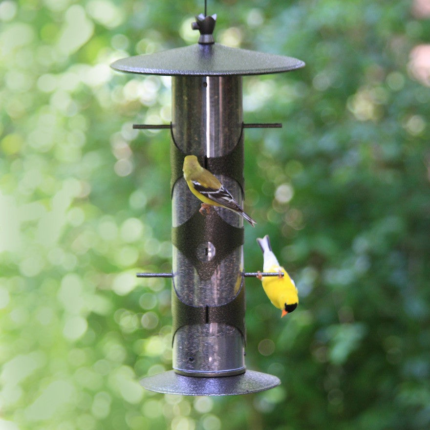 Upside-Down Finch Feeder