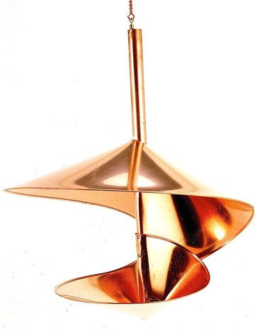 Unique Copper Hanging Bird Feeder-Small or Large