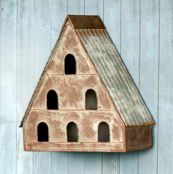 Decorative Dovecote Birdhouse Rustic Bird House Unique