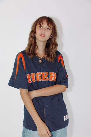 Vintage MLB Jersey || Detroit Tigers || Medium