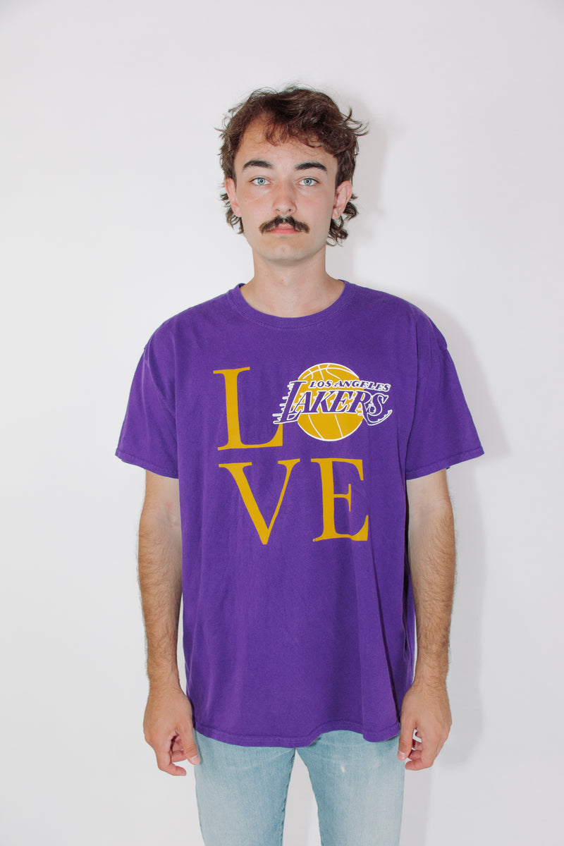 Vintage NBA Tee || Lakers || XL