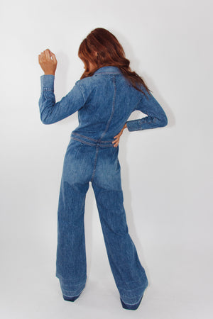 Citizens of Humanity Denim Jumpsuit || Small