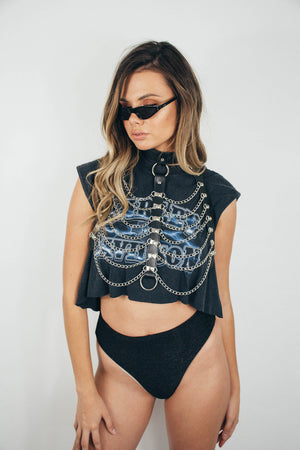 Festival Harness || Black Cage
