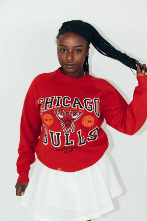 Vintage NBA Sweatshirt || Chicago Bulls || Large