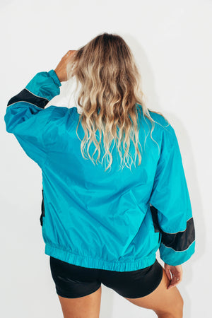 Vintage Spray Jacket || Florida Marlins