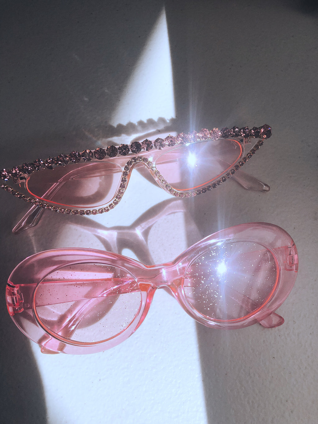 Cobain Sunglasses || Baby Spice Pink