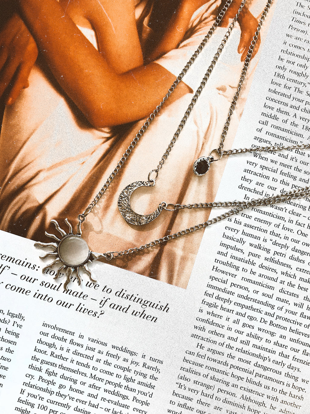 Charmed Necklace || Silver