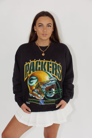 Vintage Sports Sweatshirt || Green Bay Packers 1992