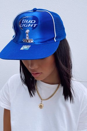 Vintage Trucker Hat || Bud Light