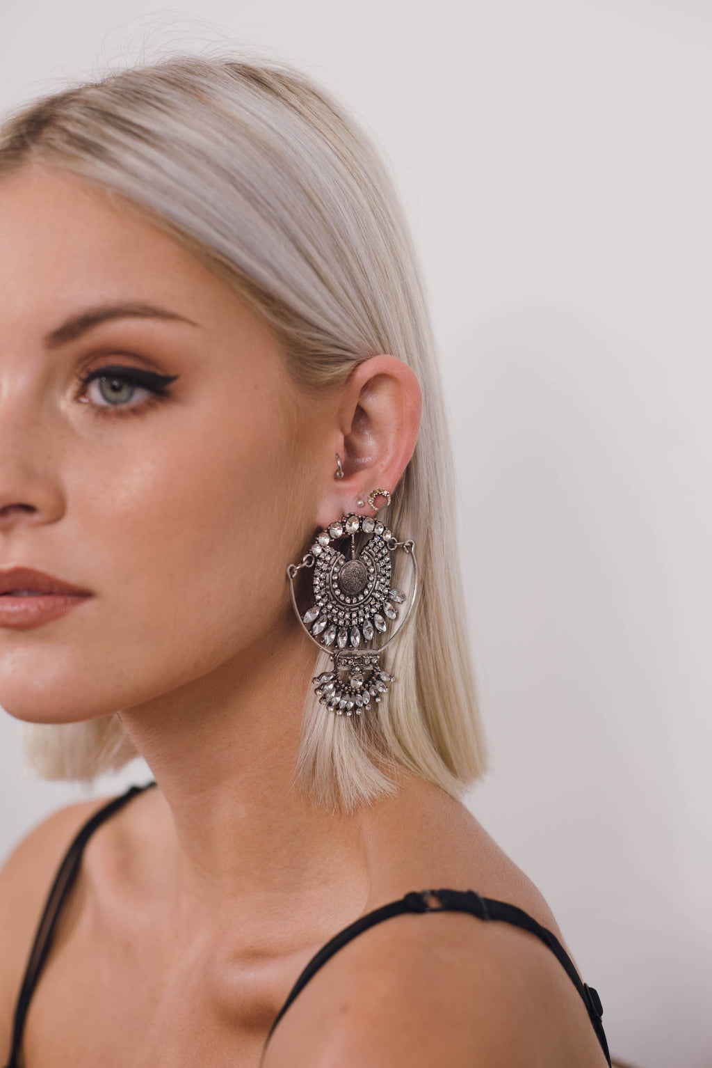 Alexa Gypsy Earrings ||Silver | SUNSHINE DREAMER ONLINE