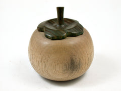 LV-3701  Persimmon Threaded Box from Persimmon Wood & Verawood-SCREW CAP