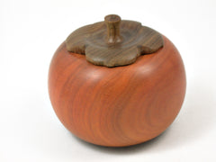 LV-4170 Persimmon Threaded Box from Chakte Viga & Verawood-SCREW CAP