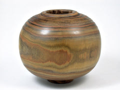 LV-3029 Staghorn Sumac  Wood Turned Vessel, Hollow Form, Vase, Weed Pot