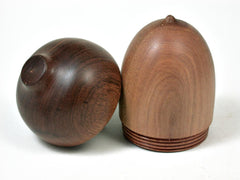 LV-2945 Wooden Acorn Jewelry, Ring Box, Pill Box  from Sandalwood & Tamboti-SCREW CAP