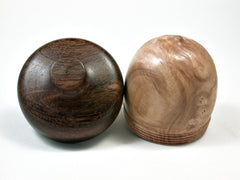 LV-1878 Dogwood Burl & Partridgewood Acorn Trinket Box, Keepsakes, Jewelry Box-SCREW CAP