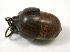 LV-2188 Acorn Pendant Box, Charm, Pill Holder from Pollyana Burl & Partridgewood-SCREW CAP