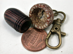 LV-2191 Acorn Pendant Box, Charm, Pill Holder from Camatillo & Betelnut-SCREW CAP