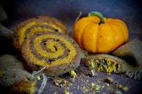 Midnight Swirl Pumpkin Beef Kookie for Dogs
