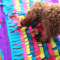 Sniffing and Digging Mat Dog Puzzle Toy