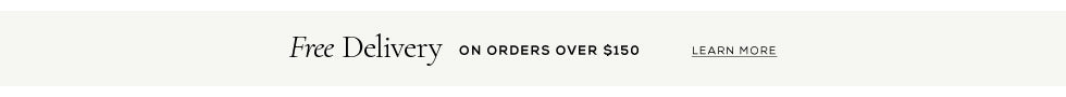 Free AU delivery on orders over $150