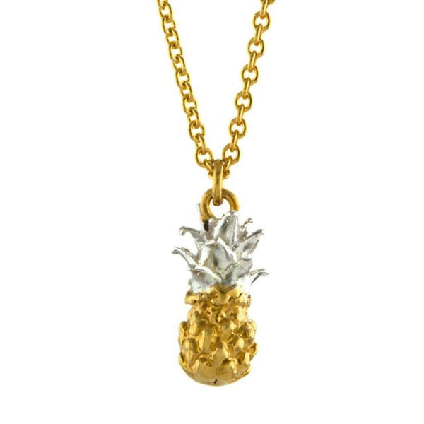 Alex Monroe Baby Pineapple Necklace
