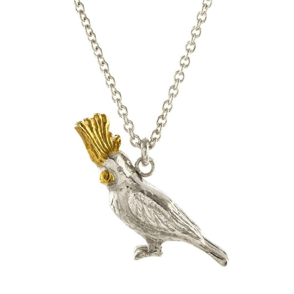 Alex Monroe Cockatoo Necklace