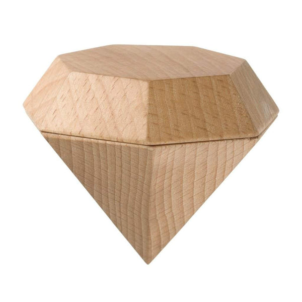 Areaware Large Diamond Box, Natural