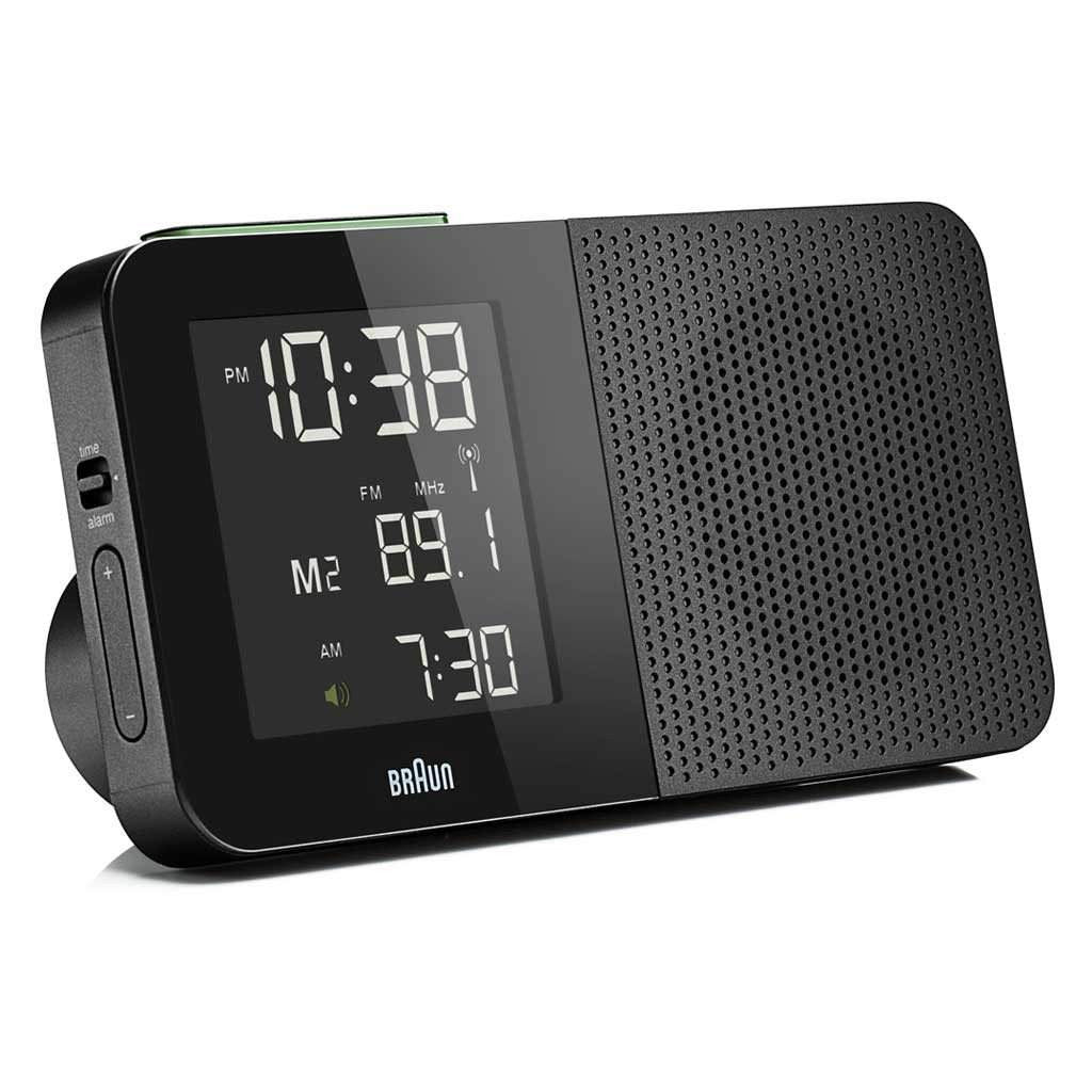 Braun AM/FM Radio Alarm Clock