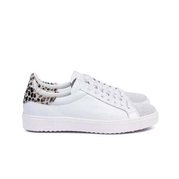 Dept of Finery Dixie Premium White Leopard Trainer