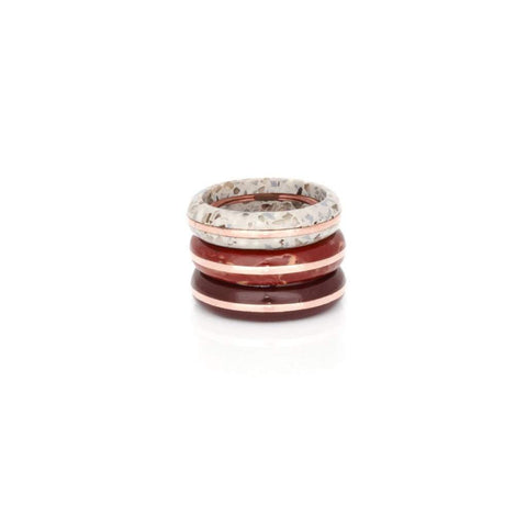 Elke Orbit Stack Ring