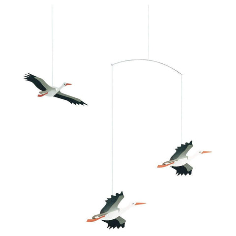 Flensted Danish Lucky Storks Mobile