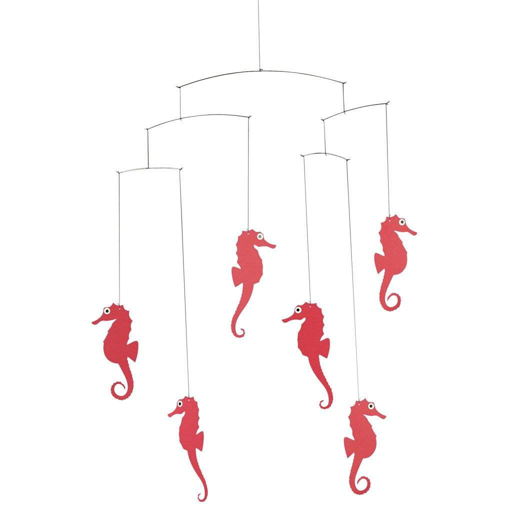 Flensted Sea Horse Mobile Red