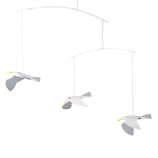 Flensted Soaring Seagulls Mobile
